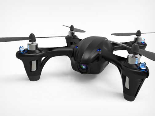 Limited-Edition 'Code Black' Drone with Camera